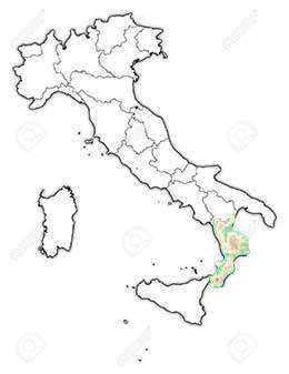 Calabria Italy Destinations Top Destinations In Italy - Clear map of italy